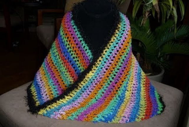 How To Crochet Infinity Scarf, Mobius or Cowl